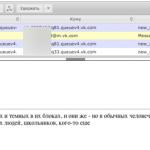 Событие переписки Вконтакте в MailArchiva